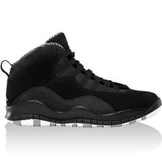 promo code 7a066 d2e23 Mens Nike Air Jordan Retro 10 Basketball Shoes Black   White   Stealth  310805-003 Jordan.  180.59