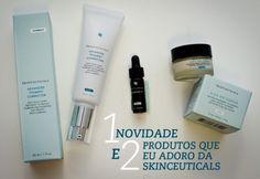 Cuidando da pele: 1 novidade e 2 produtos que adoro