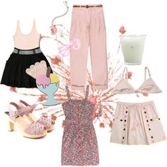 soft mood, created by mediumfashiongallery on Polyvore