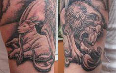 Lion Of Judah Lamb Of God Tattoo Lion lamb and serpent ii Lamb Tattoo, I Tattoo, God Tattoos, Faith Tattoos, Lion And Lamb, Christian Tattoos, Lion Of Judah, Peircings, Viera