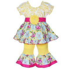 AnnLoren Adorable Girls Boutique Owl Outfit - Overstock Shopping - Great Deals on Ann Loren Girls' Sets