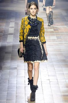 PFW: Lanvin's #fashion collection inspired by Morocco