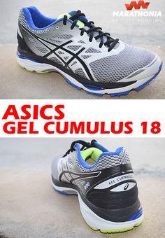 new concept 90660 e7d18 Con las zapatillas running ASICS GEL CUMULUS 18 consigue un rendimiento de  élite con la increíble amortiguación que ofrece en el aterrizaje con el GEL  ...