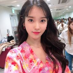 ImageFind images and videos about kpop, iu and soloist on We Heart It - the app to get lost in what you love. Kpop Girl Groups, Kpop Girls, Nayeon, Close Up, Korean Beauty, Korean Singer, Pretty People, Korean Girl, Photos