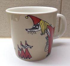 Arabia Moomin Mug Fillyjonk / Vilijonkka FINLAND