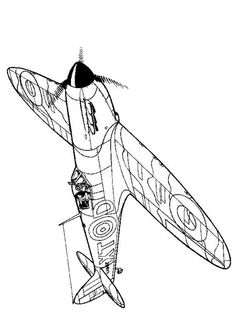 383 best air planes images in 2019 planes coloring pages 1940s Transportation coloring page wwii aircrafts spitfire 1940 cool coloring pages free printable coloring pages
