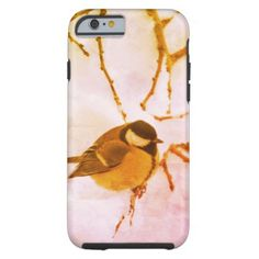 Small Bird Winter Photo iPhone 6/6s Tough Tough iPhone 6 Case - diy cyo customize create your own #personalize
