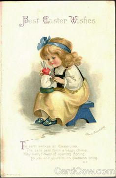Best Easter Wishes Ellen Clapsaddle