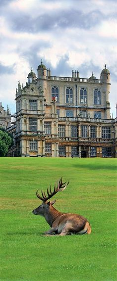 Wollaton Hall, Nottingham, England.