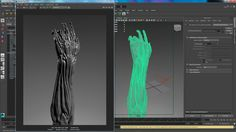 In this tutorial, I walk through the steps on how to create a displacement map in ZBrush, import into Maya and assign it to your base mesh and render. I also...