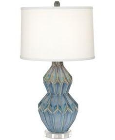Pacific Coast Avalon Table Lamp - Blue