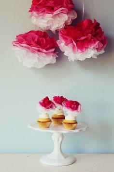 Match je cupcakes met de decoratie!