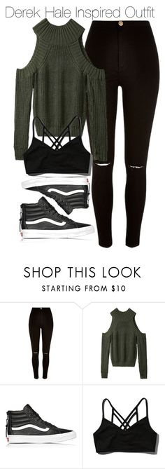 """""""Derek Hale Inspired Outfit"""" by staystronng ❤ liked on Polyvore featuring River Island, Vans, Abercrombie & Fitch, autumn, derekhale and tw"""