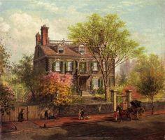 Edward Lamson Henry - The John Hancock House