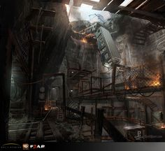 Concept Art by Eliott Lilly