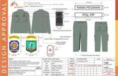 pakaian seragam satpol PP