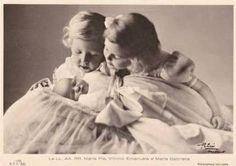 Kinder des Königs Umberto II. von Italien, children of King Umberto II. of Italy