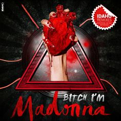 Bitch I'm Madonna Cd Artwork, Rebel Heart, Madonna, Movie Posters, Album, Film Poster, Billboard, Film Posters, Card Book