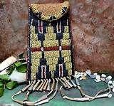 Cheyenne Figural Beaded Hide Strike-a-Light Bag - Cowan's Auctions