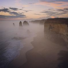 Twelve Apostles. Great Ocean Road Australia.  Ok so my sense of time and posting is obviously not current. How about I change it up and share the recent mixed with the polished of the past.  We can start off on an epic note with this dramatic noir sunset of the postcard Twelve Apostles the highlight of the Great Ocean Road drive from Melbourne to Adelaide.  #twelveapostles #12apostles #greatoceanroad #melbourne #melbonpix #adelaide #australia #seeaustralia #exploreaustralia #australiagram…