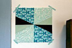 Cool quilt block