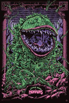 Little Shop of Horrors 24″ x 36″ Screenprint, Edition of 350, $50: mondotees.com