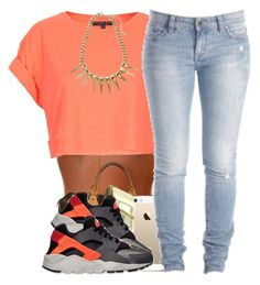 """""""{Trap Queen} 7-27-15"""" by polyvoreitems5 ❤ liked on Polyvore featuring Topshop, Louis Vuitton and NIKE"""