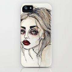 Frances Bean Cobain no.3 iPhone & iPod Case by Lucas David - $35.00