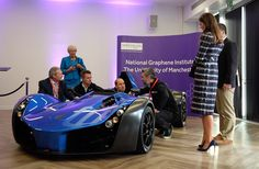 "Kensington Palace on Twitter: ""The Duke tries out a car made of graphene @UoMGraphene 🏎"