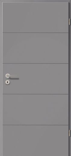 Porte int rieure contemporaine westaline type 2510 for Porte westag