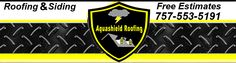 This is our Virginia Beach roofing company logo header.  We are Roofers in Virginia Beach.