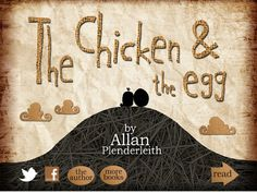 The Chicken and the Egg story app Plendy Entertainment PreK-3 love, faith, chickens