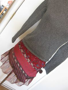 necktie skirt by sewisyourbaby.com, via Flickr