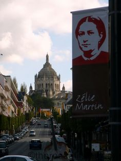 Lisieux during the week of Louis and Zelie Martin's beatification