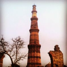 Standing with pride.......Qutub Minar.......<<>> India