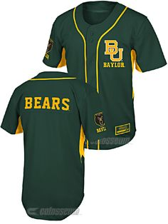 Youth Baylor Bears Fielder College Baseball Jersey by Colosseum $49.95