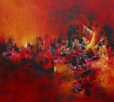 """Voyeur"" - Paula Barbella - Oleo sobre tela - 90 x 100 cm www.esencialismo.com"