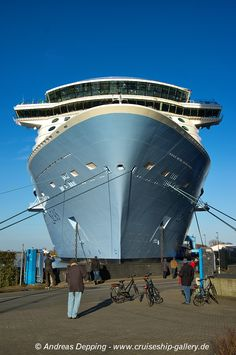 Anthem of the Seas - February 2015 - 1500K3 0522 - Cruise Ships from Papenburg / Germany