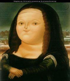 Mona Lisa Monalisa - Fernando Botero