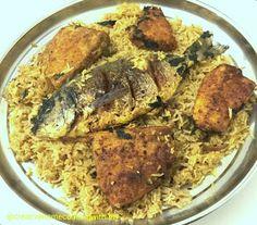 Creative Home Cooking With Ibty: Fish Kabsa (Kabsa Ya Samaki)
