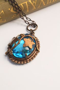 Reflection Pool Arts and Crafts Revival Hand Rendered by Vintaj. $46.00 USD, via Etsy.