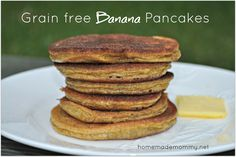 Ingredients makes about 12 small pancakes - recipe can be doubled easily - I use a griddle   2 eggs  1  very ripe banana  1/4 cup almond butter - where ...