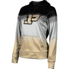School Spirit Sweatshirt ProSphere Purdue University Girls Pullover Hoodie Gradient