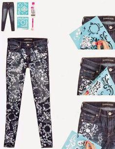 c.h.e.s.l.l.e.r: Customizaçaõ de calça jeans