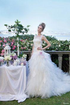 Váy cưới cho tiệc ngoài trời