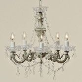 Add a touch of class to your home with a classic crystal, brass, gold or antique chandelier. Enjoy FREE and fast delivery to most of the UK on orders over Shop online now! 5 Light Chandelier, Antique Chandelier, Or Antique, Lisa, Ceiling Lights, Crystals, Lighting, Antiques, Home Decor