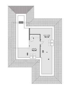 Piwonia Beautiful House Plans, Beautiful Homes, Diy Home Bar, My House Plans, Contemporary House Plans, Farmhouse Plans, Cribs, Beach House, Floor Plans