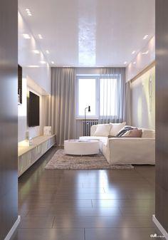 minimalisme Spacieux par Cult of Design 02 Contemporary Interior Design, Modern House Design, Modern Interior, Home Interior Design, Earthship, Formal Living Rooms, Living Spaces, Sitting Room Decor, Living Comedor