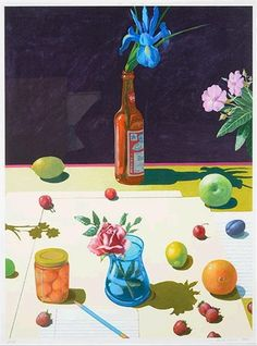 Paul Wonner  (Born: 24 April 1920; Tucson, Arizona, United States; Died: 23 April 2008, United States), Still life