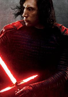 Oscar Isaac Goodies - Ideas of Star Wars Kylo Ren - Adam Driver as Kylo Ren in the promotional poster for Star Wars: The Last Jedi Star Wars Saga, Star Wars Meme, Star Wars Kylo Ren, Kylo Ren Saber, Tableau Star Wars, Kylo Ren And Rey, Kylo Rey, Movies And Series, Star Wars Wallpaper